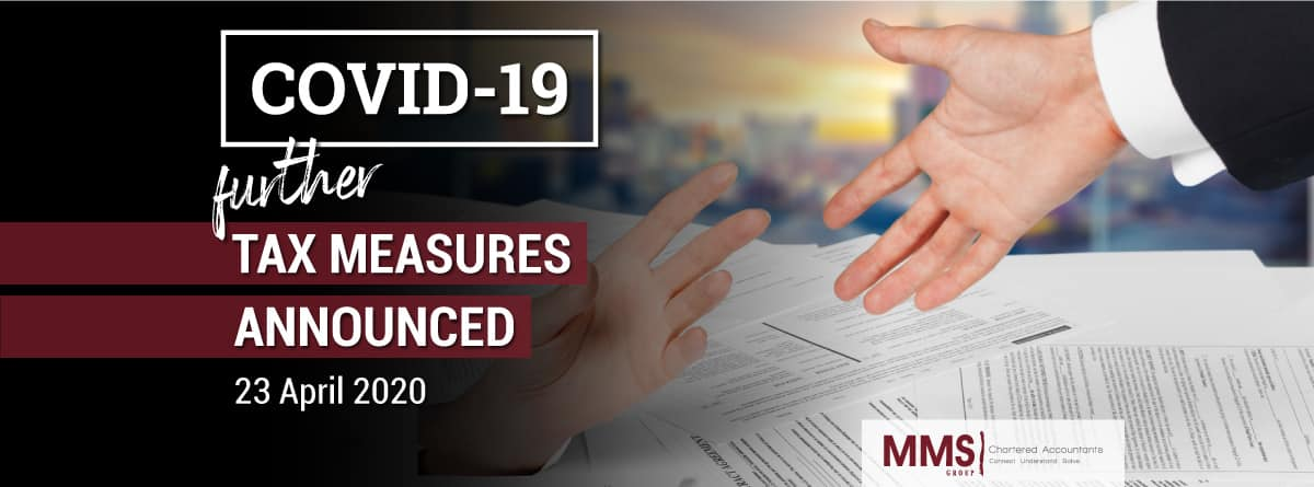 Further Tax Measures To Combat Covid-19